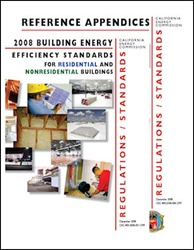 2008 California Building Energy Efficiency Standards Index Tabs