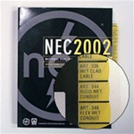 2002 NEC tabs for your code book.