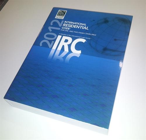2012 International Residential Code IRC Tabs